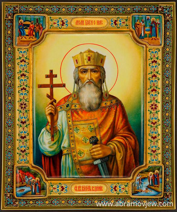 Владимир икона, серебряный оклад ...: www.abramovjew.com/catalog/49/icons/position/4901092.php